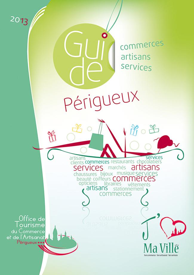 Plaquette flyers cr ation mise en page p rigueux - Office de tourisme de perigueux ...