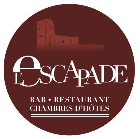 L'Escapade, logo avec base-line
