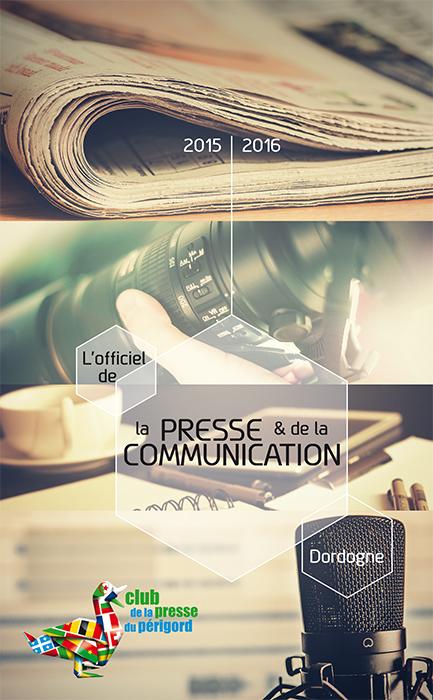 Couverture annuaire Club de la Presse du Périgord