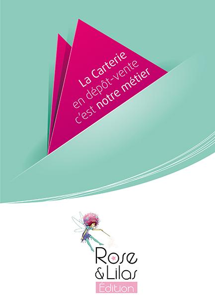 Rose & Lilas plaquette 3 volets, A4
