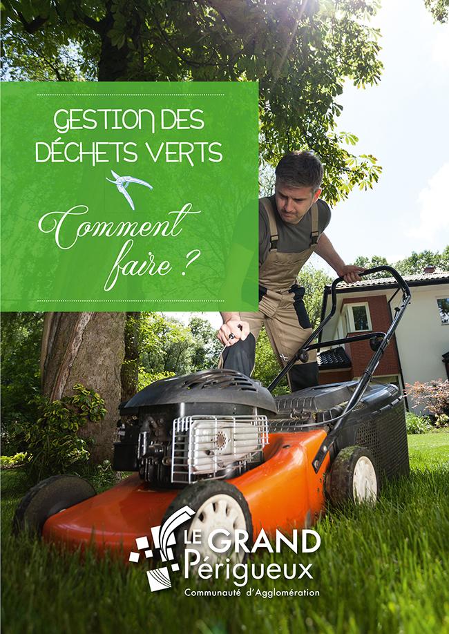 Grand Périgueux, couverture plaquette déchets verts