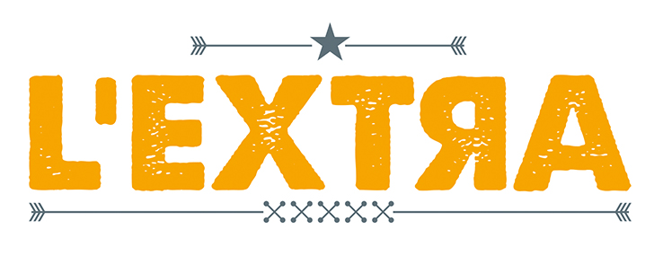 Logo, L'Extra, bar à burger et salade