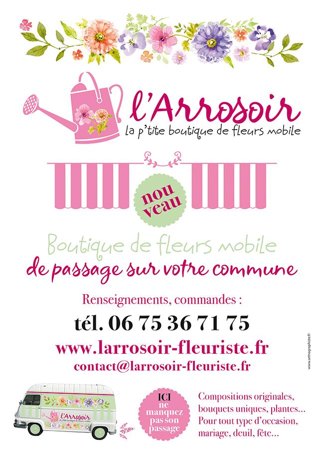 Fleuriste l'Arrosoir, affiche