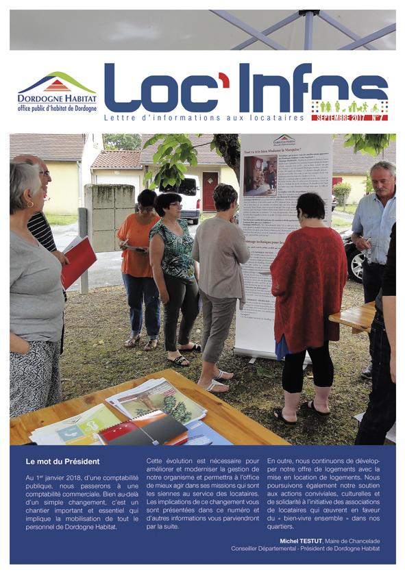 Dordogne Habitat – Loc'Infos